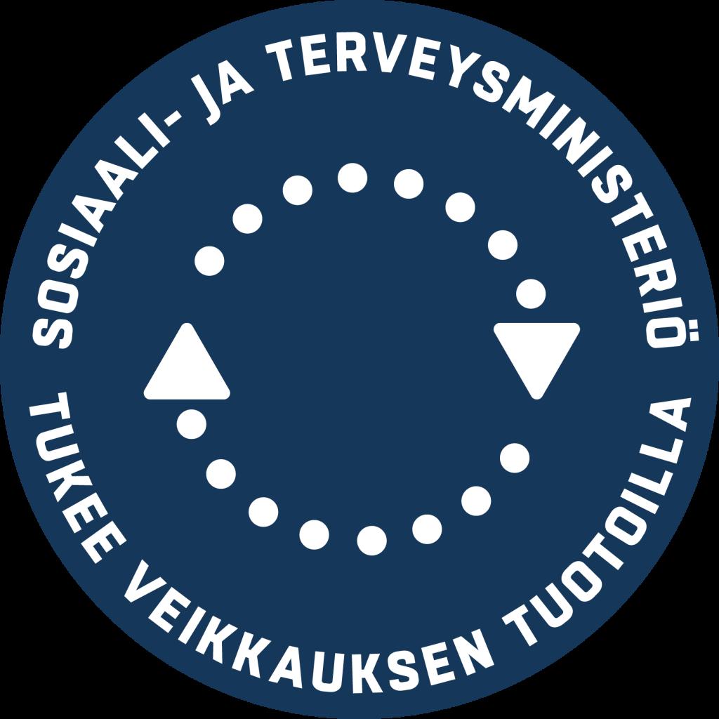 Sosiaali- ja terveysministeriön logo